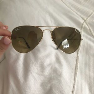 Ray Ban Brown Aviator Polarized